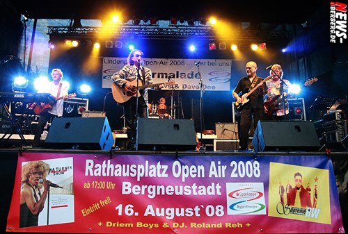 Oldie Show - Chris Andrews - Marmelade - Lindenplatz Open Air 2008 (Gummersbach)