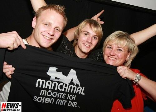 DJ Bobby (l.) und Veranstalterin Andrea Engert (r.) EVT - Engert Veranstaltungs Technik