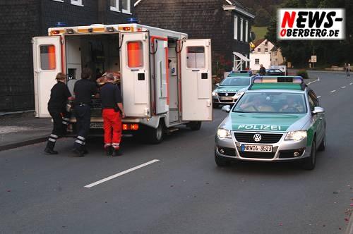 Engelskirchen (Wiehlmünden): Unfall oder versuchtes Tötungsdelikt? Radfahrer wurde schwer verletzt