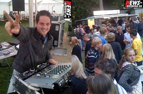 Bergneustadt: DJ Maik unterhielt die ´Feierwehr´ beim traditionellen Waldfest ´Unter den Eichen´ des Löschzuges 1 der Feuerwehr Bergneustadt