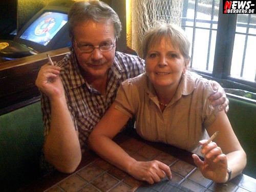 Dieter und Marion aus Reichshof - Raucherclub Unterdeck in Bergneustadt Am Stadtwald