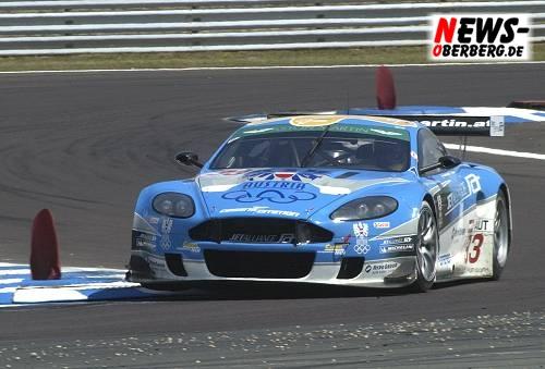 Oschersleben - Sieg für den Ex-Formel 1-Piloten Karl Wendlinger (A) und seinen Co Ryan Sharp (GB) in der FIA GT Weltmeisterschaft
