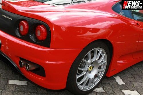 Rückansicht ´Heck´ Ferrari Challenge Stradale