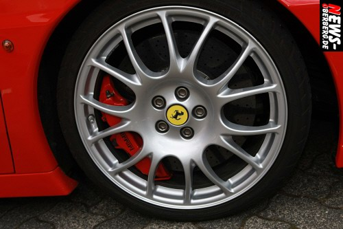 Ferrari Felge - Hochleistungsbremsanlage