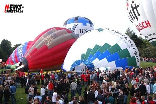 Ballon fahren - Ballonglühen - Nümbrecht Kurpark