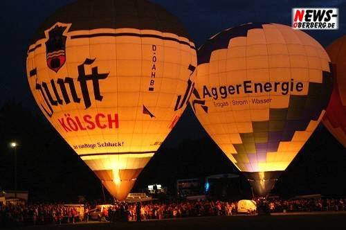 Ballonglühen - Lichterfest Nümbrecht 2008