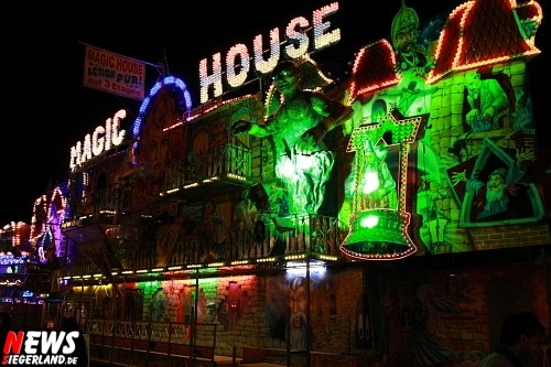 Magic House - Fahrgeschäft - Grusel - Illusion - Wendener Kirmes 2008