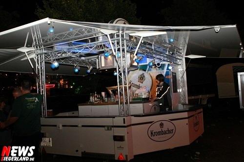 Krombacher Disco Bierstand @Wendener Kirmes 2008