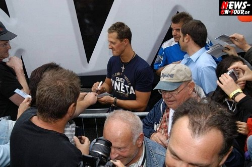 Michael Schumacher Autogrammstunde