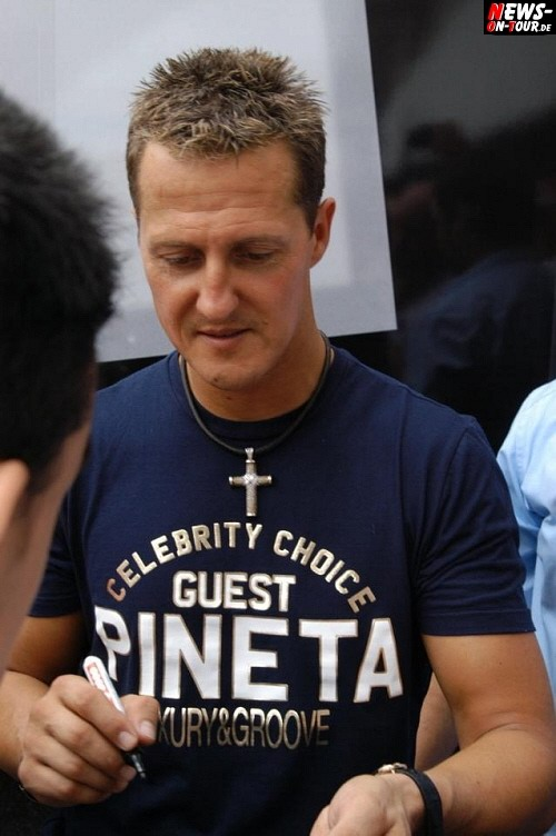 Michael Schumacher Fahrerlager Autogrammstunde