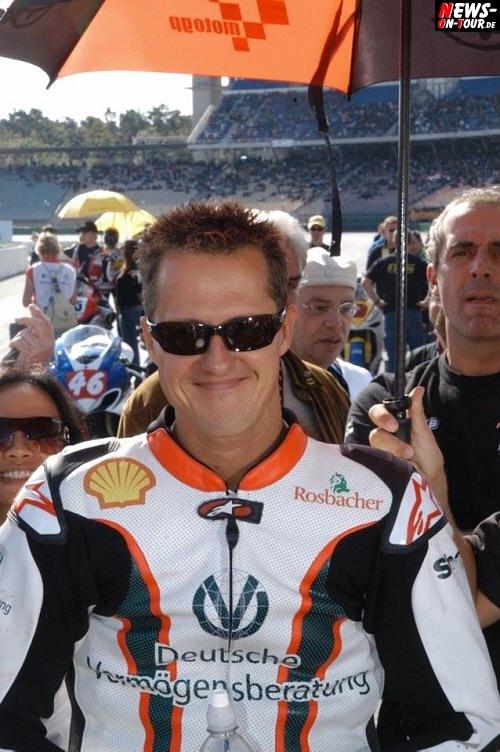 Michael Schumacher 2008 IDM Hockenheim Motorrad