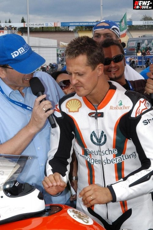 Michael Schumacher Interview 2008