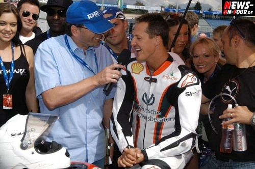 Michael Schumacher Interview Motodrom Hockenheim 2008