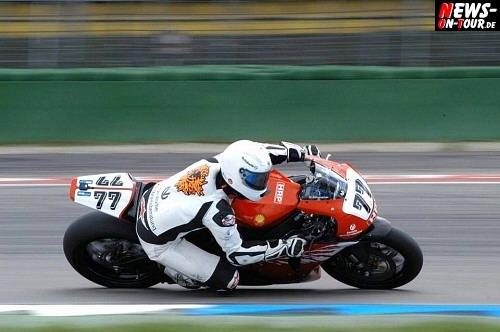 Schumi Ausrutscher Motorrad