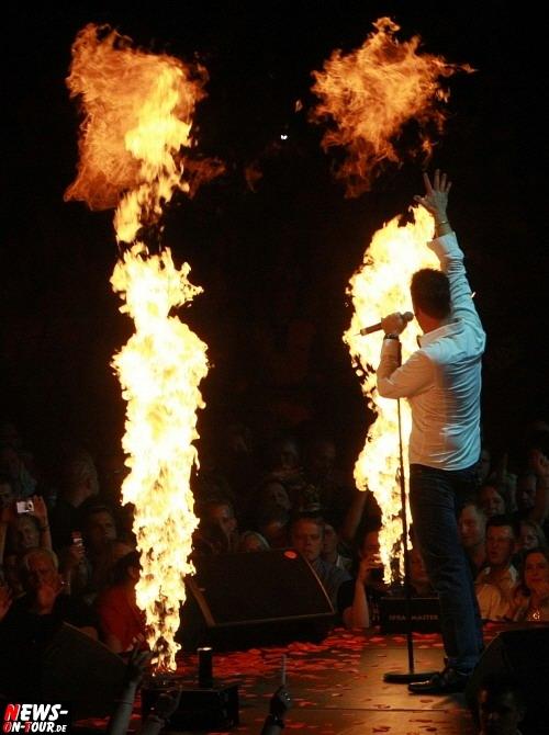 Michael Wendler Feuershow