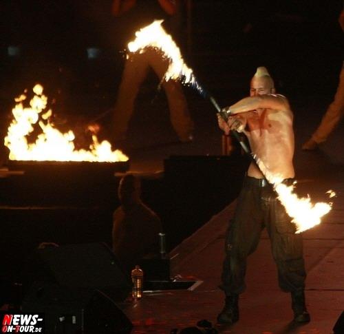 Saraph - Feuershow