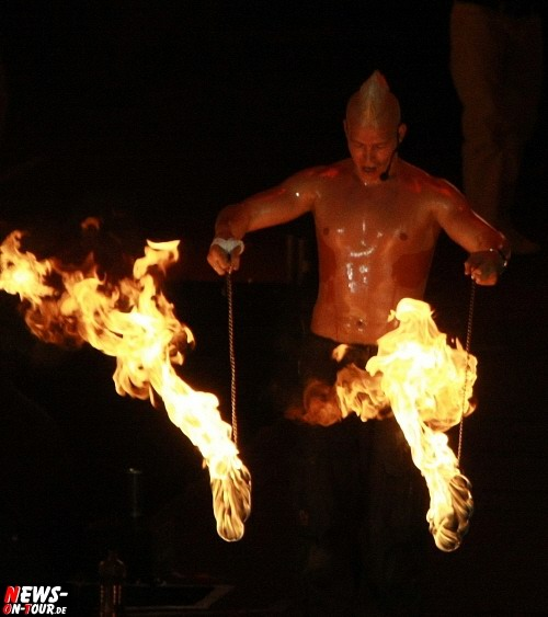 SARAPH - Fire in Motion - Feuershow - Hennes