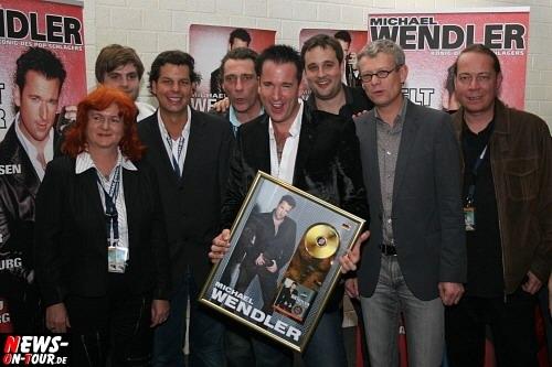 Michael Wendler (Der Wendler) Goldene Schallplatte