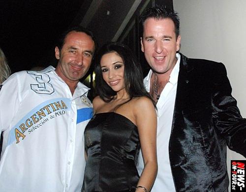 Andy Bucher (Mega Park Mallorca), Diana Sorbello und Michael Wendler