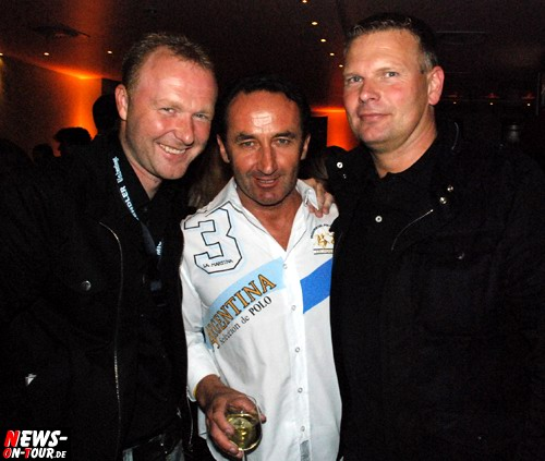 Frank Neuenfels, Andy Bucher und Heiko-Schulte Siering (Wendler-Medienberater und Manager von Michael Wendler)