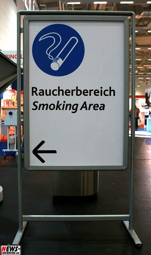 Raucherbereich - Smoking Area