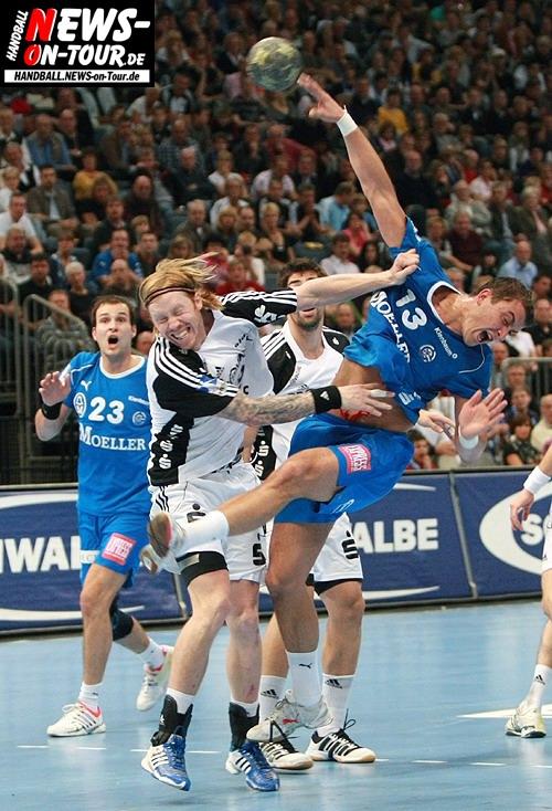Momir Ilic (Vfl Gummersbach) gegen THW Kiel @Lanxess Arena