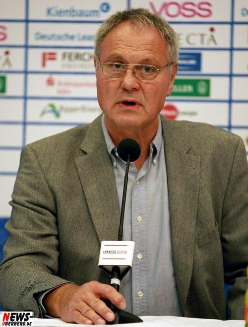Hansi Schmidt @Pressekonferenz VfL Gummersbach (Lanxess Arena)