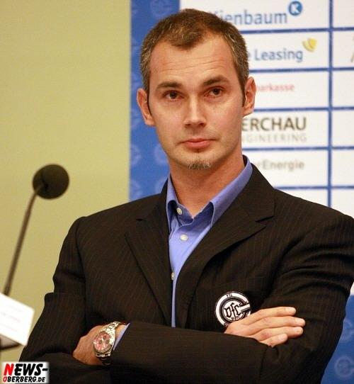 François-Xavier Houlet (Geschäftsführer VfL Gummersbach): @Pressekonferenz VfL Gummersbach (Lanxess Arena)