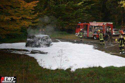 Schaumteppich - Feuerwehr