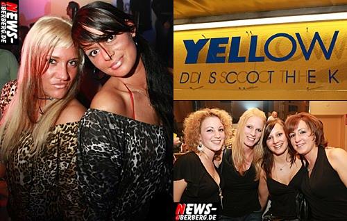 Yellow Gummersbach Neueröffnung Sexy Girls