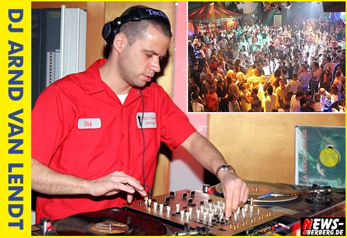 Gummersbach: disco YELLOW goes ´Back to the roots´ mit DJ Arnd van Lendt (Sa. 11.10.2008 ab 22:00 Uhr)