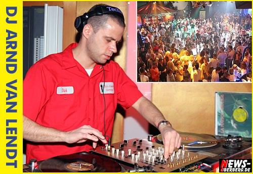 Gummersbach: disco YELLOW goes ´Back to the roots´ mit DJ Arnd van Lendt (Sa. 11.10.2008 ab 22:00 Uhr)