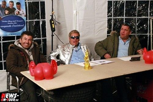 Casting ´Das singende Eselskind´ Jörg und Dragan (RTL Autohändler) und ´Das Bodo´ Dieter Bohlen Double