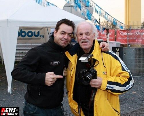 NEWS-Teamleader Christian Sasse aka ´DER SASSE` und ´DER LORD´ Wolfgang Sasse