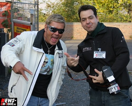 Dieter (Bohlen Double ´Das Bodo´ alias Henry Matz) und ´Der Sasse´ alias Christian Sasse.