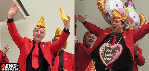 Prinz Horst II und Jungfrau Olivia - RKV Ründeroth (Karneval)