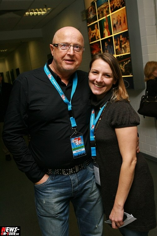 Bodo Krohn und Tanja Behnke (Organisations Crew - ´we love the 90s´)
