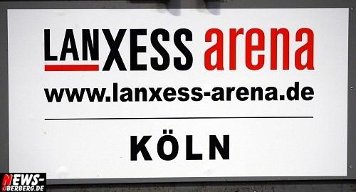 LANxess Arena Köln Logo/Schild