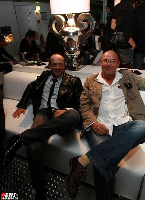 Nic Duysens und Norbert Bay in der Dkdance Lounge. Foto: ´Der Sasse´ www.NTOi.de