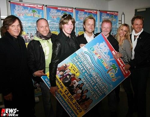 Oberhausen: [Final Update!] Das Who-is-who der Partymusik- und Schlagerszene gab sich zur Pressekonferenz von ´Oberhausen Ole´ die Ehre