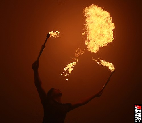 Feuershow - Feuerspucker