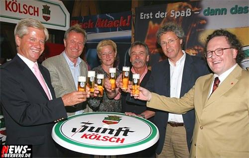 Dr. Axel Haas (Erzquell Brauerei) und MdB Klaus-Peter Flosbach (CDU)