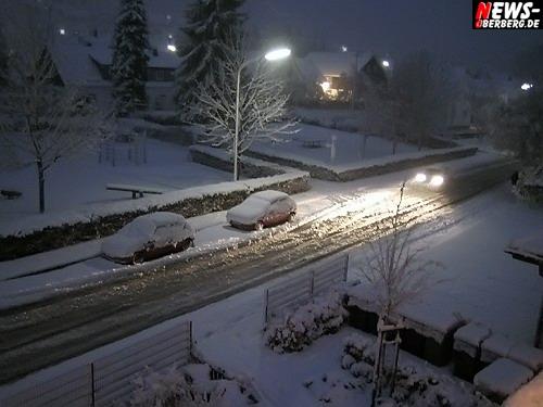Oberbergischer Kreis: Witterungsbedingte Unfälle! 45 Unfälle im Oberbergischen. Überwiegend Sachschäden