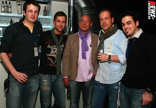 Michael Harenberg, Timo Bay, Norbert Bay, Holger Madel und Bastian Barth.