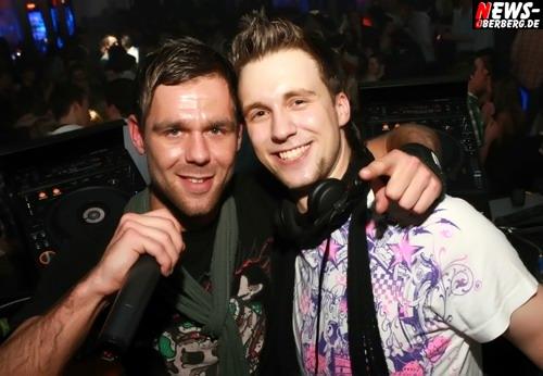 DJ T-Mo (Timo Bay) und DJ Vincent Miro.