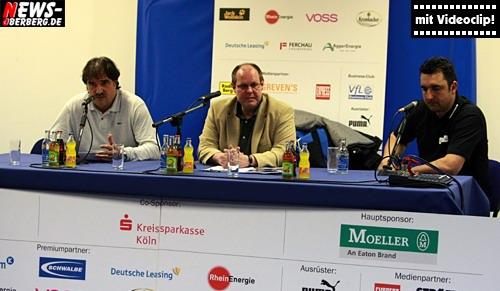 Handball.NEWS-on-Tour.de: [Mit HD-Videostream!!] Pressekonferenz nach dem Bundesligaspiel VfL Gummersbach – Stralsunder HV 41:20 (21:13) in voller Länge @Eugen Haas Halle