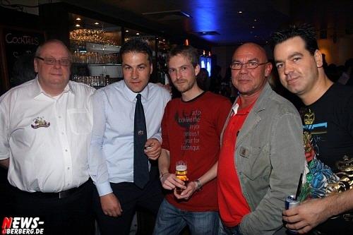 Wolfgang Friedrich, Andreas Linneboden, Patrick Niehl, Norbert Bay und Christian Sasse