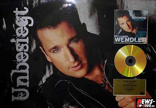 Michael Wendler Unbesigt GOLD Award