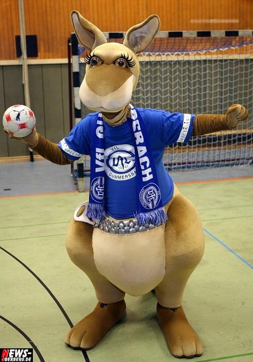 VfL Gummersbach Gummi Känguru Maskottchen