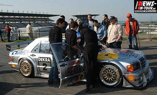 Berlin 2000 - Mercedes 190E - AMG - Keke Rosberg